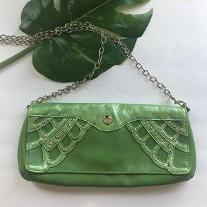 Crossbody Bag, BCBG Paris, Green Crossbody, Clutch